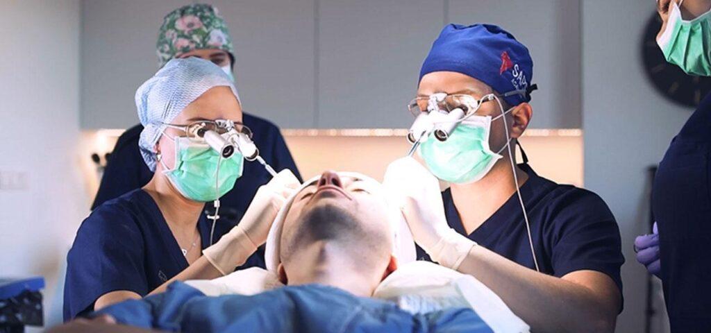 hair implantation for men