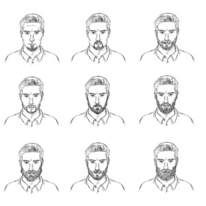 types of beards